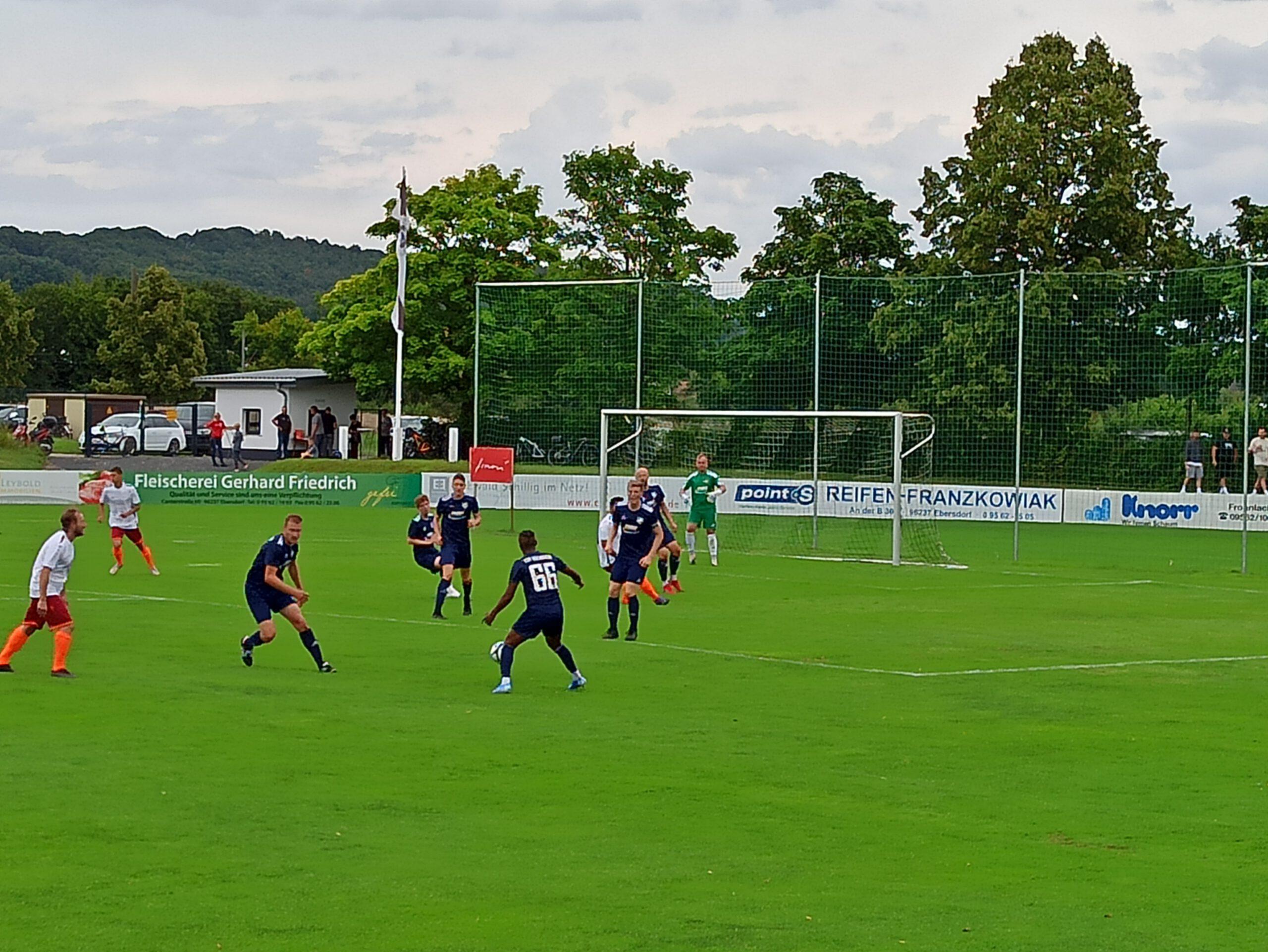 4. Spieltag Landesliga Nordwest Vorrunde-A:                   1. FC Geesdorf – SC Sylvia Ebersdorf 1912 e.V. / Vorbericht