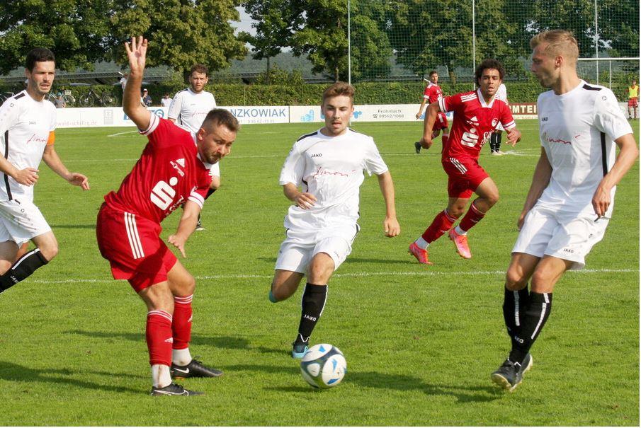 5. Spieltag Landesliga Nordwest Vorrunde-A:                   SC Sylvia Ebersdorf 1912 e.V. – FC Coburg – Ergebnis 2:2